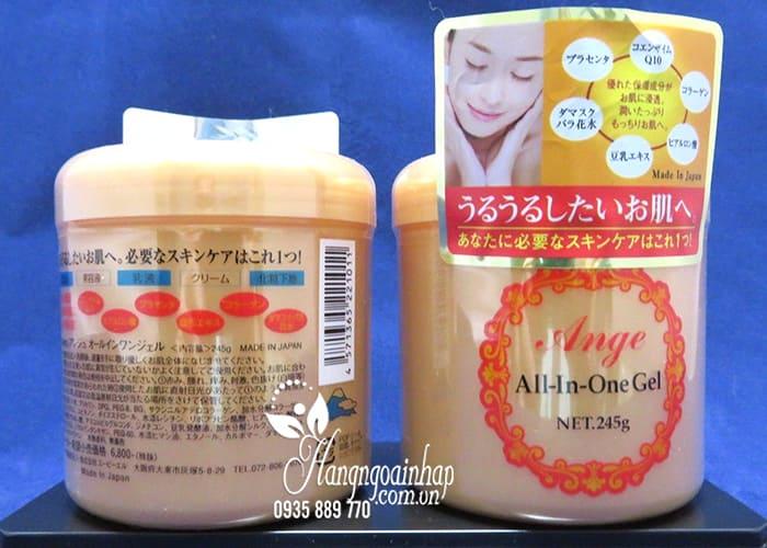 Kem dưỡng Ange All In One Gel 245g chính hãng Nhật Bản3
