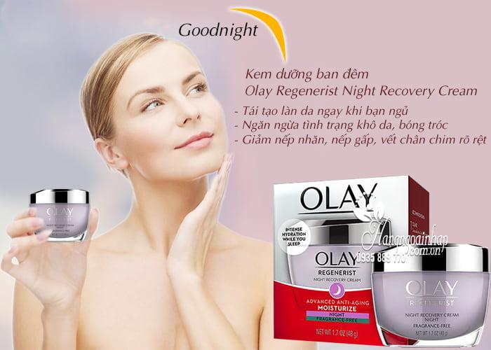 Kem dưỡng ban đêm Olay Regenerist Night Recovery Cream 48g 5