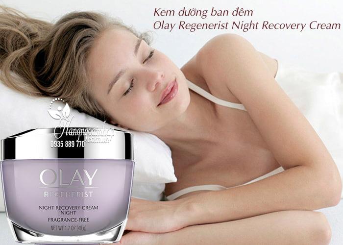 Kem dưỡng ban đêm Olay Regenerist Night Recovery Cream 48g 3