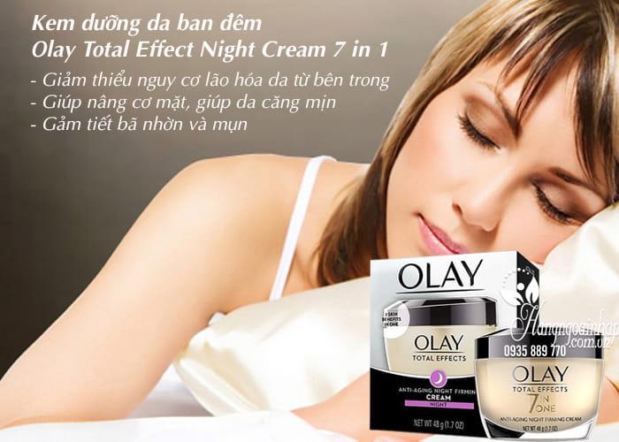 Kem dưỡng da ban đêm Olay Total Effect Night Cream 7 in 1 3