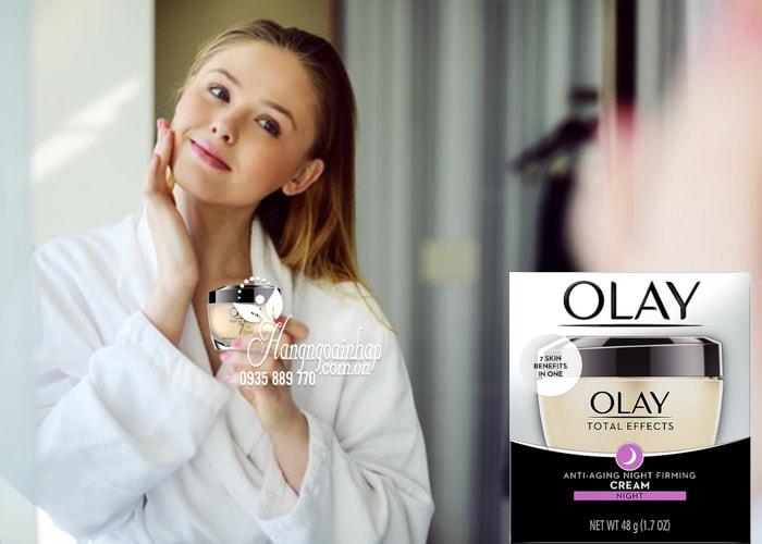 Kem dưỡng da ban đêm Olay Total Effect Night Cream 7 in 1 4
