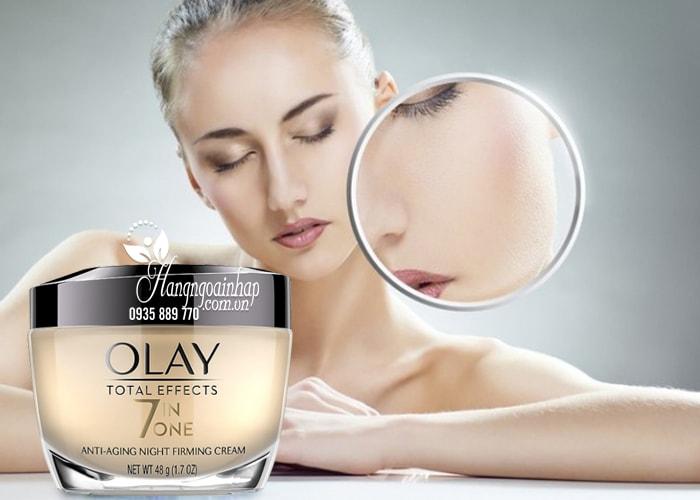 Kem dưỡng da ban đêm Olay Total Effect Night Cream 7 in 1 5