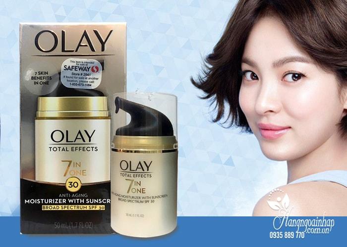 Kem dưỡng da chống lão hóa Olay Total Effects 7 in 1 SPF15 50ml của Mỹ