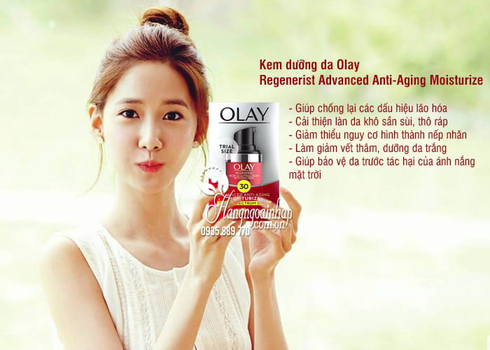 Kem dưỡng da Olay Regenerist Advanced Anti-Aging Moisturize 4