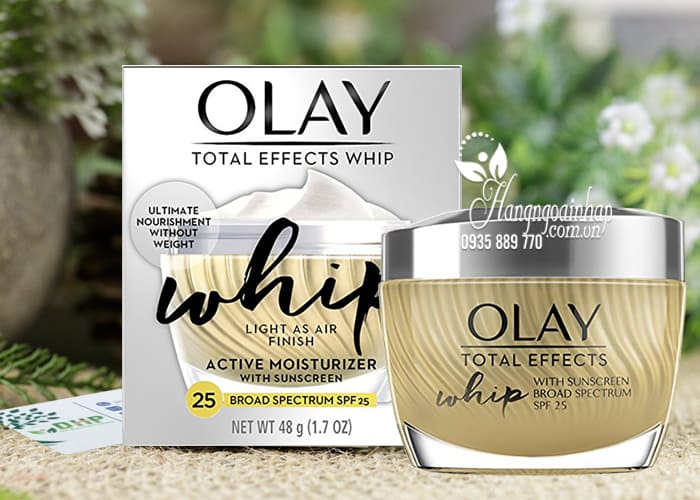 Kem dưỡng da Olay Total Effects Whip Active Moisturize SPF25 1
