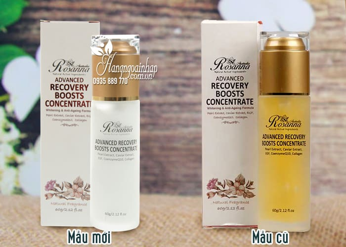 Kem Dưỡng Da Rosanna Advanced Recovery Boosts Concentrate 2
