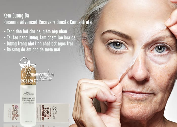 Kem Dưỡng Da Rosanna Advanced Recovery Boosts Concentrate 3
