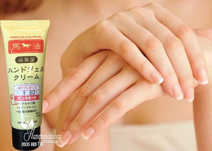 Kem dưỡng da tay mỡ ngựa Horse Oil & Olive Oil Hand Gel Cream 2