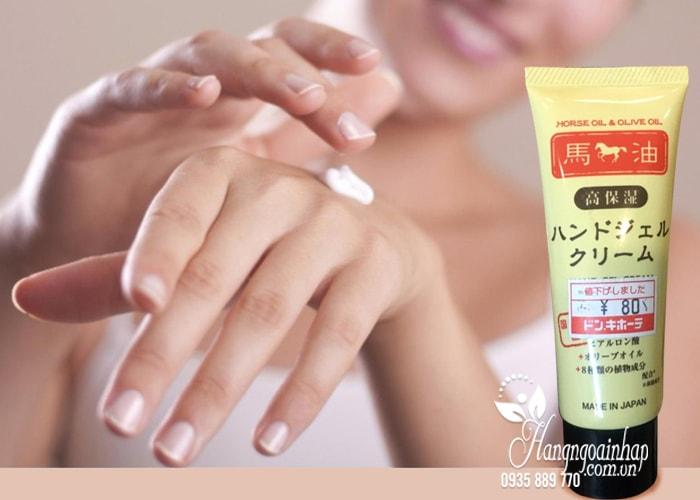 Kem dưỡng da tay mỡ ngựa Horse Oil & Olive Oil Hand Gel Cream 3