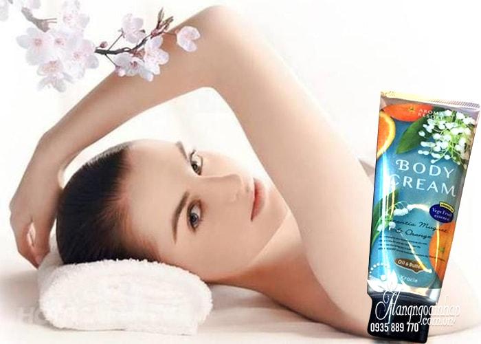Sữa dưỡng thể Aroma Resort Kracie Body Milk 220g của Nhật Bản 4