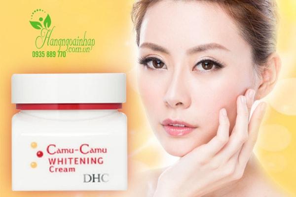 Kem dưỡng trắng da Camu - Camu Whitening Cream DHC của Nhật