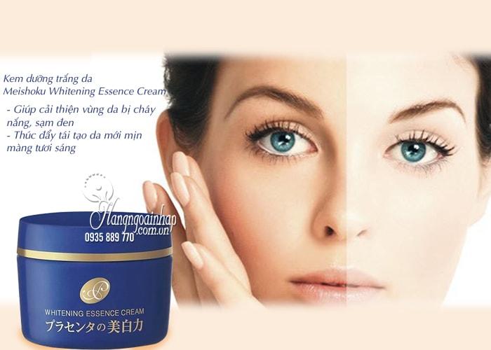Kem dưỡng trắng da Meishoku Whitening Essence Cream 55g  2
