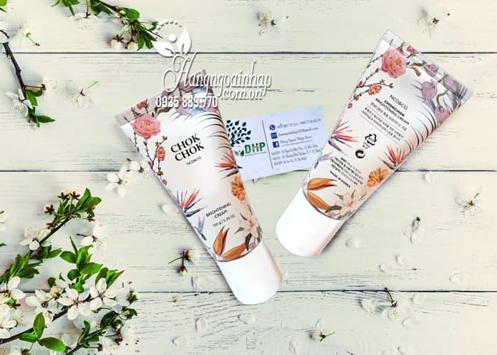 Kem dưỡng trắng da toàn thân Chok Chok Brightening Cream 150g 1