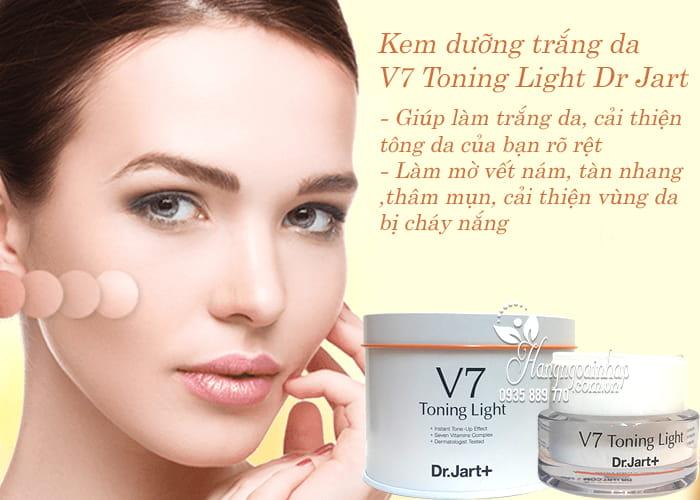 Kem dưỡng trắng da V7 Toning Light Dr Jart 50ml của Hàn Quốc 3