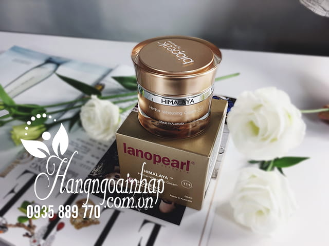 lanopearl himalaya herbal whitening cream 50ml