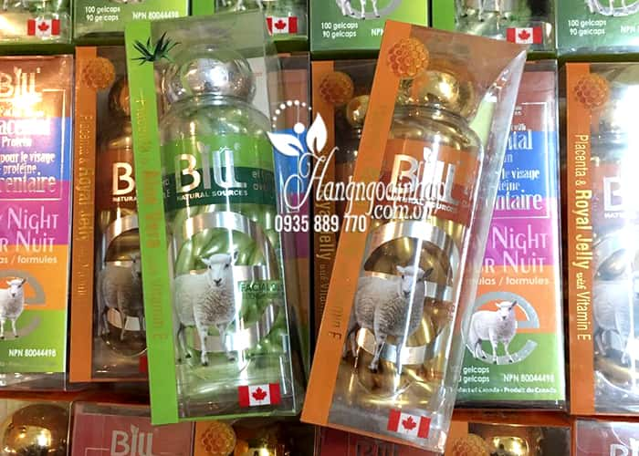 Viên Bôi Nhau Thai Cừu Bill Placenta 100 Viên Của Canada 5