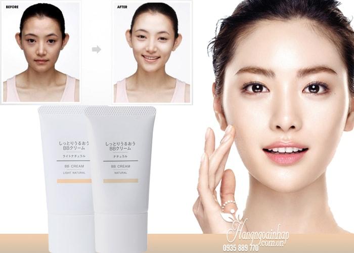 Kem nền chống nắng Muji BB Cream Natural SPF40 PA+++ 30g của Nhật