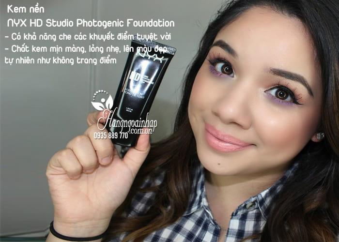 Kem nền NYX HD Studio Photogenic Foundation của Mỹ 2