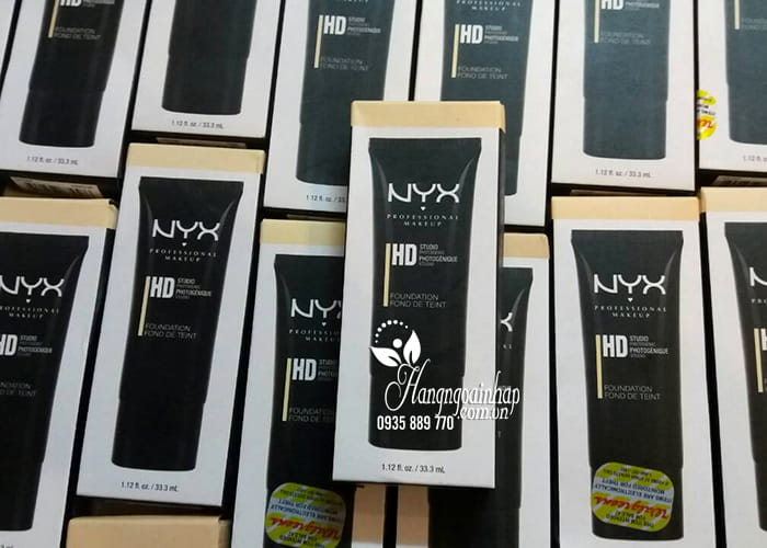 Kem nền NYX HD Studio Photogenic Foundation của Mỹ 1