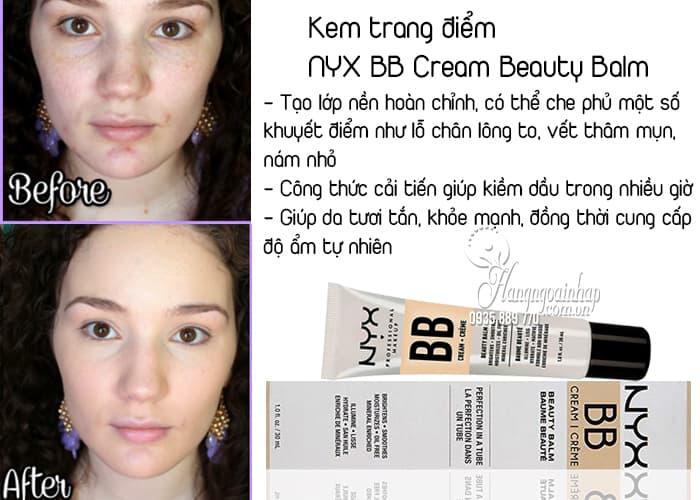 Kem trang điểm NYX BB Cream Beauty Balm 30ml của Mỹ 1
