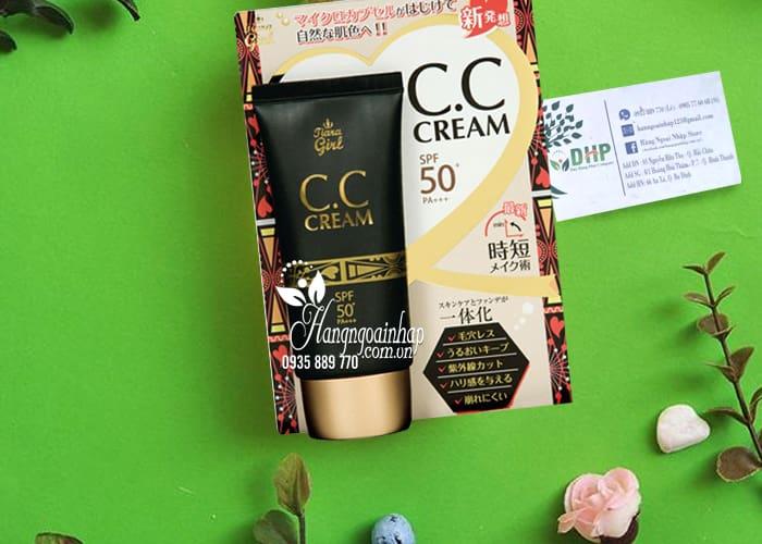 Kem trang điểm Tiara Girl CC Cream SPF50 Nhật Bản tuýp 50ml 1