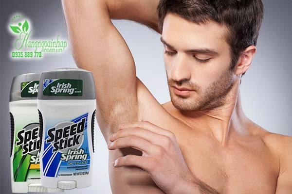 Lăn khử mùi cho nam Speed Stick Irish Spring 76g của Mỹ