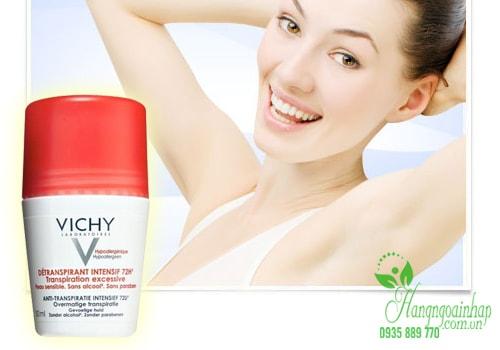 Lăn khử mùi Vichy 50ml của Pháp – Khử mùi, diệt khuẩn