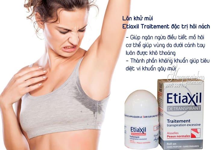 Lăn khử mùi Etiaxil Traitement đặc trị hôi nách của Pháp 2