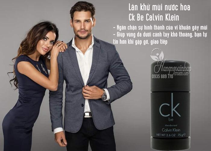 Lăn khử mùi nước hoa Ck Be Calvin Klein 75g dành cho nam 2