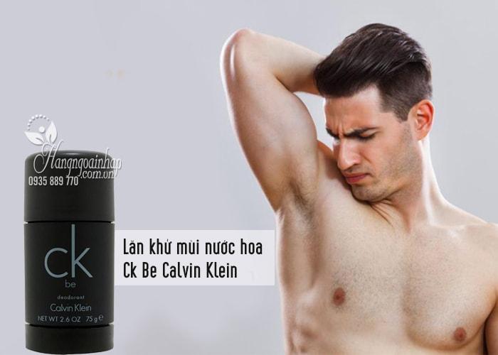 Lăn khử mùi nước hoa Ck Be Calvin Klein 75g dành cho nam 1