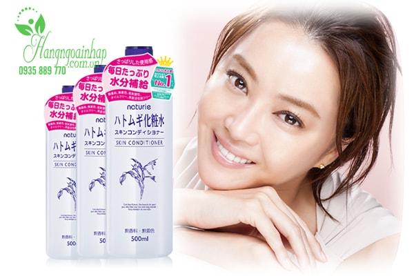 Lotion dưỡng da Naturie Hatomugi Skin Conditioner 500ml của Nhật Bản