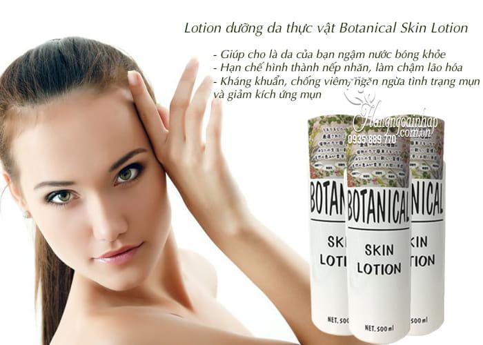 Lotion dưỡng da thực vật Botanical Skin Lotion 500ml của Nhật 3