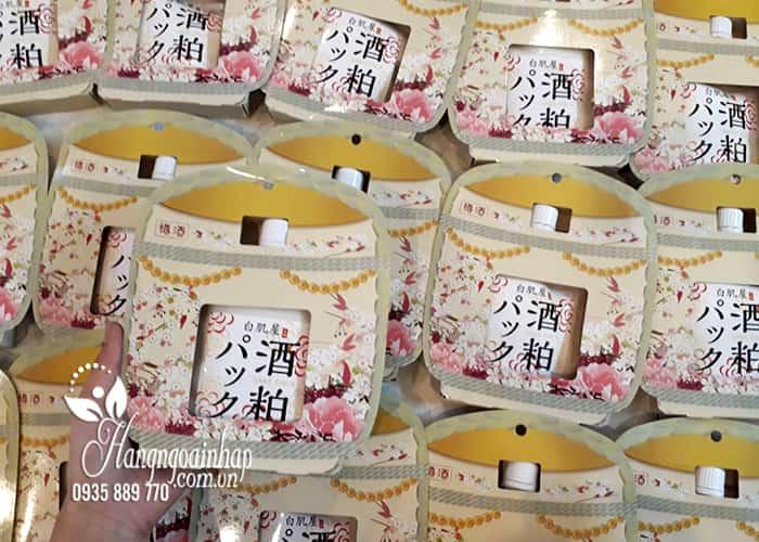 Mặt nạ bã rượu Sake Kasu Face Pack 120g Nhật Bản ủ trắng da 1
