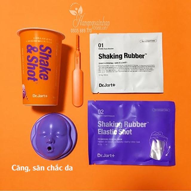 Mặt nạ cao su Shake and Shot Dr. Jart của Hàn Quốc màu cam