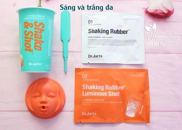 Mặt nạ cao su Shake and Shot Dr. Jart của Hàn Quốc màu xanh
