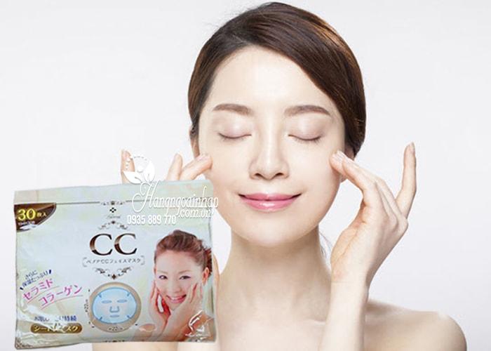 Mặt nạ Collagen BB CC Benoa Nhật Bản túi 30 miếng2