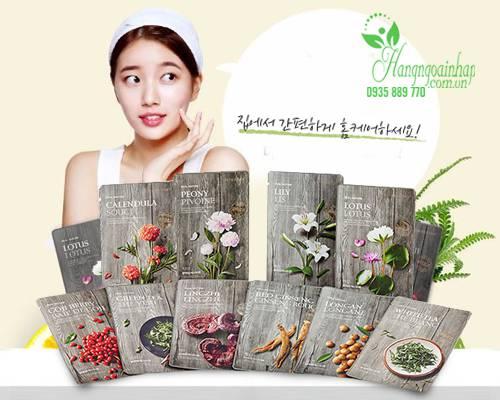 Mặt nạ đông y Real Nature 2016 của The Face Shop Hàn Quốc
