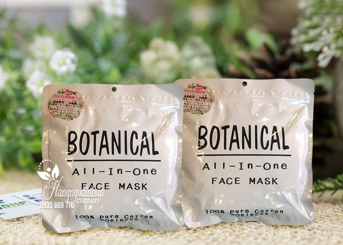 Mặt nạ dưỡng ẩm Botanical All In One Face Mask của Nhật Bản 1