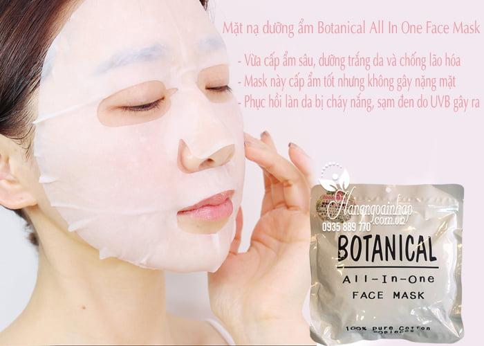Mặt nạ dưỡng ẩm Botanical All In One Face Mask của Nhật Bản 3