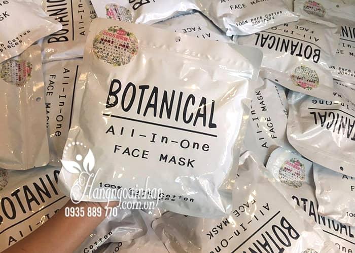 Mặt nạ dưỡng ẩm Botanical All In One Face Mask của Nhật Bản 5