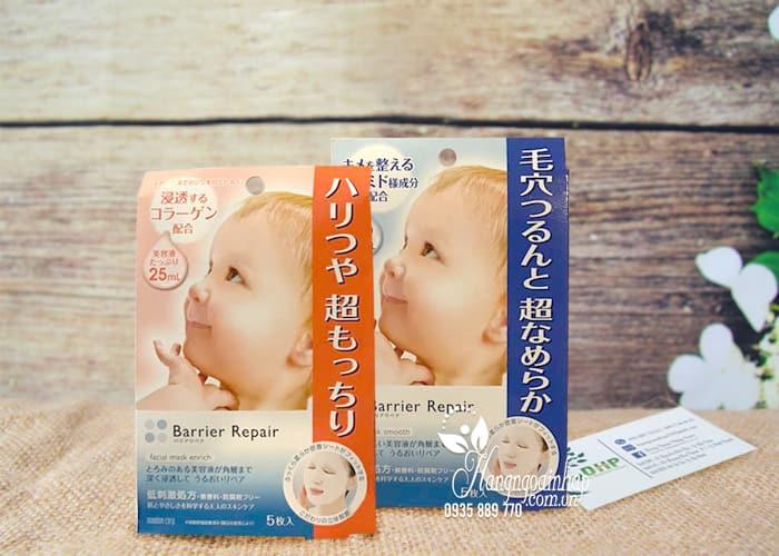 Mặt nạ dưỡng da Barrier Repair Nhật Bản hộp 5 miếng 1