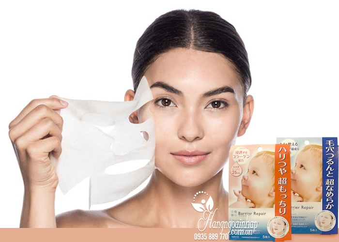 Mặt nạ dưỡng da Barrier Repair Nhật Bản hộp 5 miếng 4
