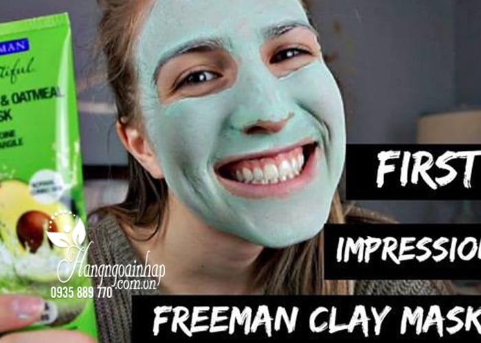 Mặt nạ Freeman Feeling Beautiful 175ml dưỡng da trắng mịn 4