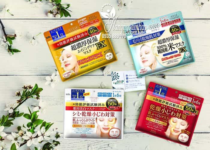 Mặt nạ giấy dưỡng da Kose Cosmeport của Nhật Bản 1
