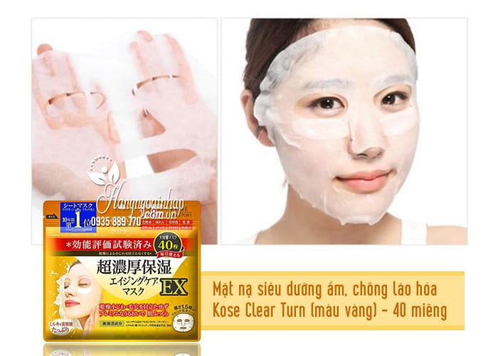 Mặt nạ giấy dưỡng da Kose Cosmeport của Nhật Bản 2