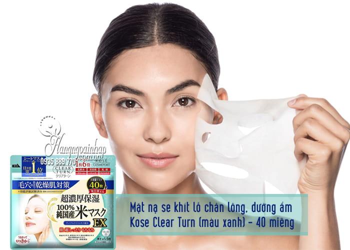 Mặt nạ giấy dưỡng da Kose Cosmeport của Nhật Bản 5