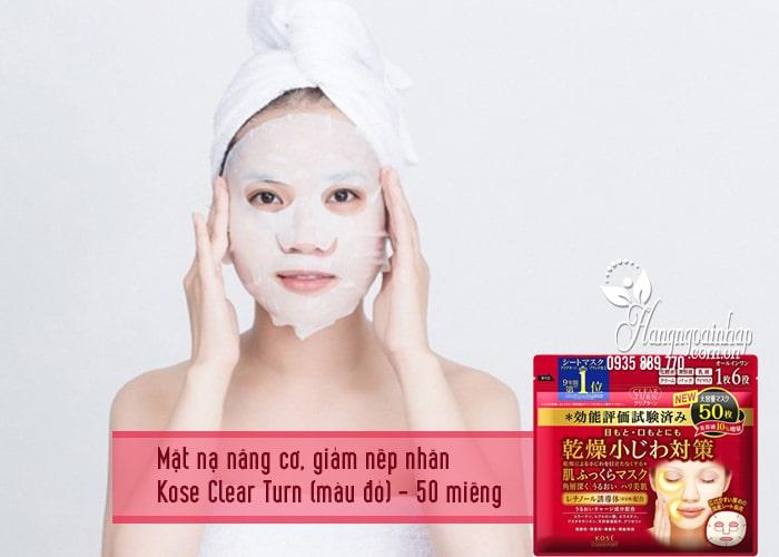 Mặt nạ giấy dưỡng da Kose Cosmeport của Nhật Bản 3