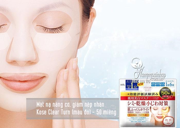Mặt nạ giấy dưỡng da Kose Cosmeport của Nhật Bản 4