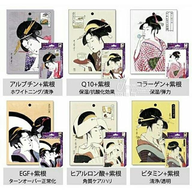 Mặt nạ dưỡng da Mitomo Mask hình cô gái Nhật Bản