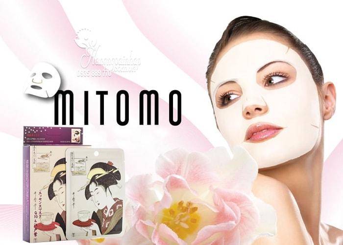 Mặt nạ dưỡng da Mitomo Mask hình cô gái của nhật